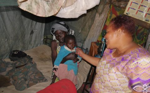 HIV-Projekt in einem Slumgebiet von Nairobi